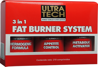 3 in 1 Fat Burner System